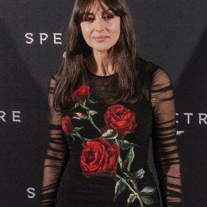$5,500 DOLCE & GABBANA BLACK RED ROSE RUCHED DRESS